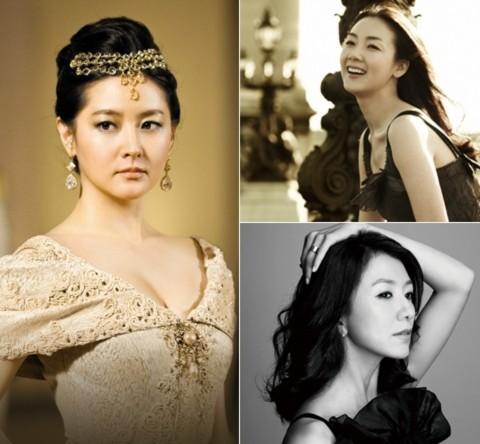 Lee Young Ae, Choi Ji Woo, Kim Hee Ae.