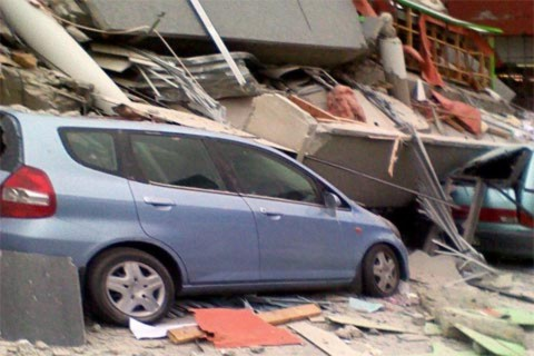 Động đất dữ dội ở New Zealand, ít nhất 65 người chết