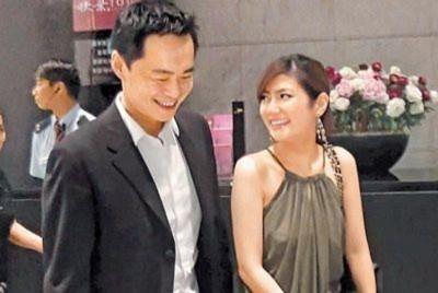 Selina và chồng chưa cưới Trương Thừa Trung trước vụ tai nạn.