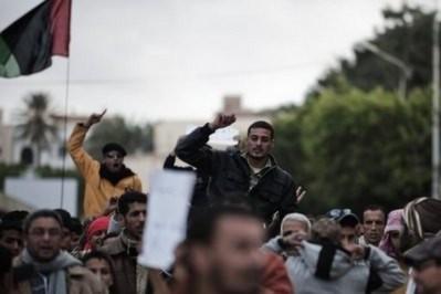 Thế giới lên án hành động trấn áp đẫm máu ở Libya