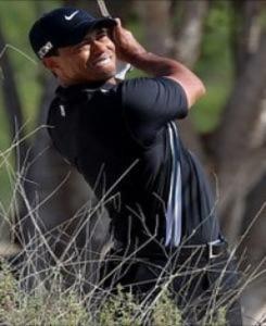 Tiger Woods khởi đầu chập chờn ở Dubai Desert Classic