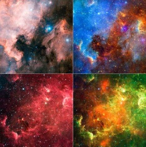Vũ trụ đẹp kỳ ảo