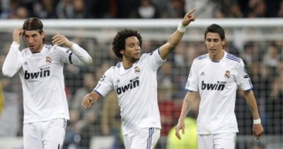 Marcelo, Di Maria và Ramos.