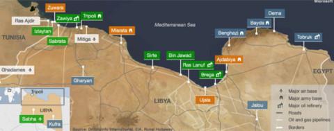Chiến sự tại Libya.