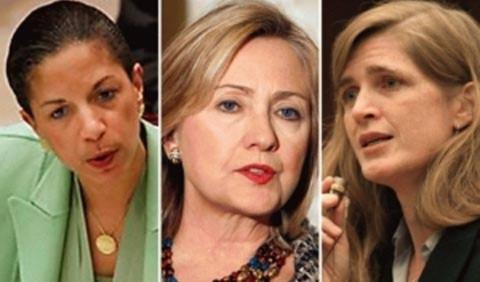 Ba phụ nữ đứng sau quyết định đánh Libya