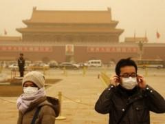 Bão cát đang hoành hành tại thủ đô của Trung Quốc