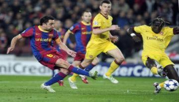 Barca loại Arsenal bằng màn trình diễn ngẫu hứng