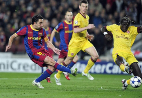 Xavi đã có một trận đấu xuất sắc và một bàn thắng quan trọng.
