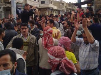 Biểu tình tại Syria : Hơn 100 người bị bắn chết