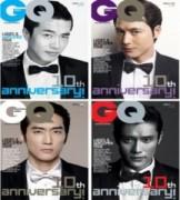 Bốn tài tử Hàn Quốc lịch lãm trên GQ