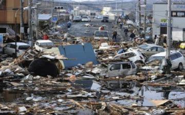 Cảnh tượng khó quên về thảm họa tại Nhật
