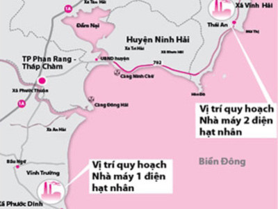 Chỉ lo Nhà máy điện hạt nhân Ninh Thuận gặp động đất đã đủ?