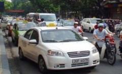 Cước taxi đồng loạt tăng