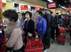 Dân Trung Quốc đổ xô mua muối i-ốt