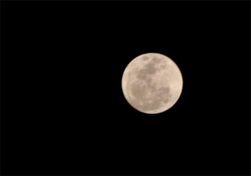 Giới trẻ VN mãn nhãn với siêu mặt trăng