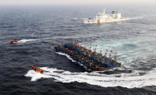 Từ đầu năm 2011 đến nay, Hàn Quốc đã bắt giữ 83 tàu cá Trung Quốc