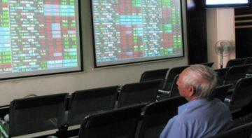 Hàng loạt cổ phiếu giảm sàn
