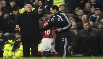 HLV Ferguson chỉ trích trọng tài sau trận thua Chelsea