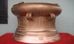Hoàn thành trống đồng đầu tiên dâng vua Hùng