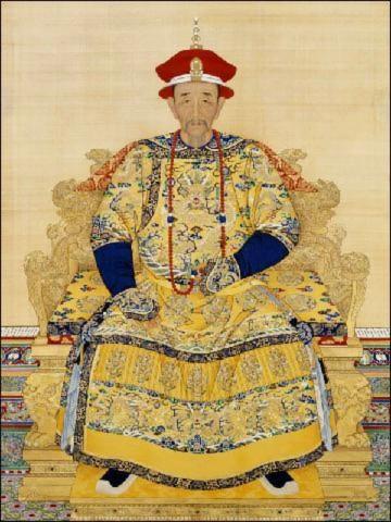 Bức họa Hoàng đế Khang Hy (Ảnh của minghui.org)