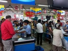 Hôm nay, siêu thị tăng giá từ 5% đến 15%