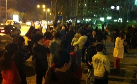 Hớt hải kể chuyện 'chạy' động đất ở Thủ đô