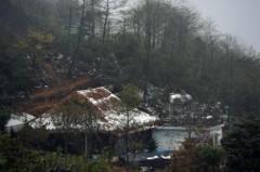 Đỉnh Hoàng Liên tuyết phủ một màu trắng xóa