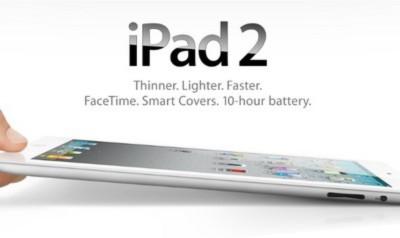 iPad 2 chính thức trình làng đầy ấn tượng