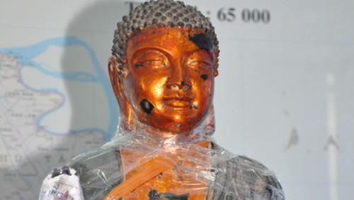 Kết luận chính thức về tượng Phật 82kg nghi bằng vàng