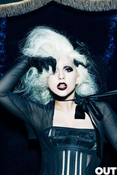 Lady Gaga. Ảnh: Out.