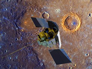 Lần đầu tiên công bố hình ảnh từ quỹ đạo sao Thuỷ