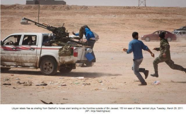 Libya dậy sóng – Tin cập nhật 30/3