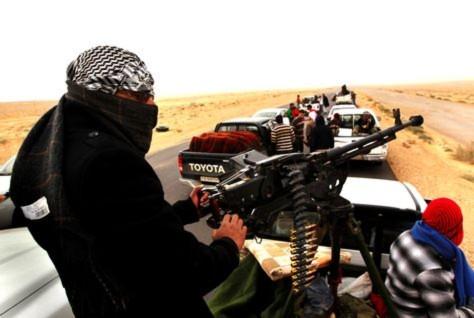 Libya: Quân nổi dậy co cụm bị đập tan
