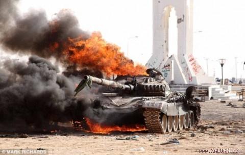 Liên quân tiếp tục dội bom thủ đô Tripoli