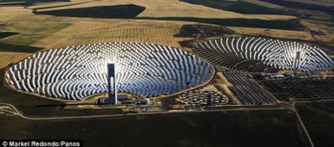 Mẫu hình mới về nhà máy điện mặt trời