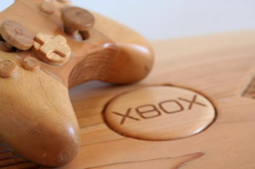 Máy Xbox được làm từ gỗ