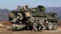 Mỹ - Hàn tập trận bắn đạn thật