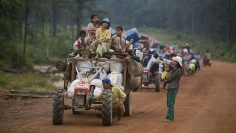 Nạn xuất khẩu lao động bất hợp pháp ở Campuchia