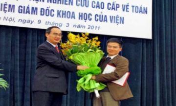 Ngô Bảo Châu:'Tôi có trách nhiệm lớn với Viện nghiên cứu cao cấp về Toán'