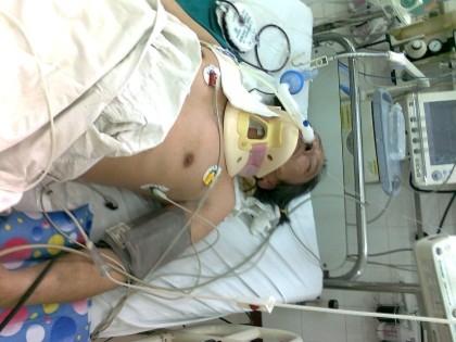 Sau 6 ngày thở máy, công dân Trịnh Xuân Tùng đã tử vong vì bị đánh gãy cổ