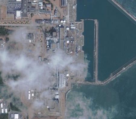 Bức ảnh nhà máy điện hạt nhân Fukushima I