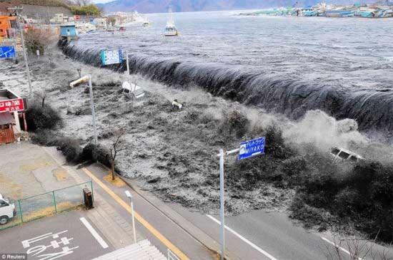 Động đất Nhật Bản qua ảnh