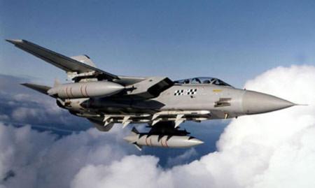 Máy bay chiến đấu Tornado của không quân hoàng gia Anh. Ảnh: RAF