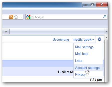 Sao lưu dữ liệu Gmai sang tài khoản Windows Live miễn phí