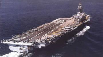 Tàu sân bay lớn nhất châu Âu tham chiến Libya