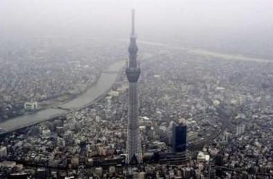 Tokyo có tháp truyền hình cao nhất thế giới