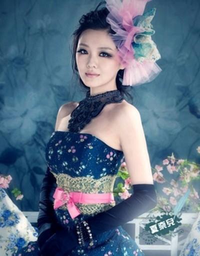 Từ Hy Viên làm cô dâu trong một bộ ảnh thời trang trước đây.