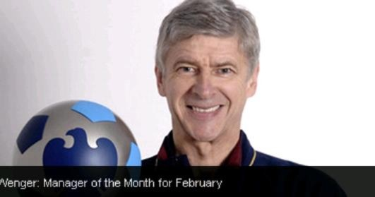 Wenger và Parker xuất sắc nhất tháng 2