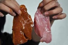 16 tấn thịt lợn thành thịt bò như thế nào?