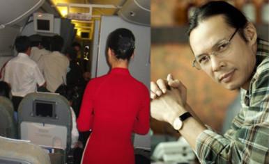Đạo diễn Trần Lực làm chứng vụ khách Vietnam Airlines bị đánh